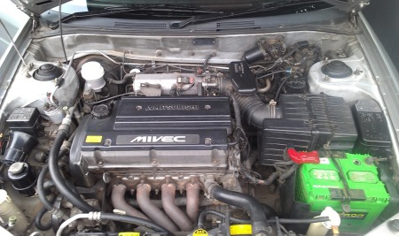 Engine Bay si Kyo - Lancer Mivec