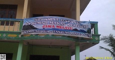 Restoran Jawa-Melayu Piayu Laut