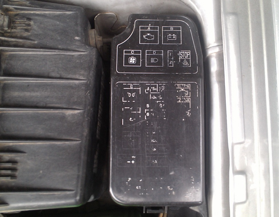 Fuse Box Mapping  Diagram Untuk Lancer Ck4
