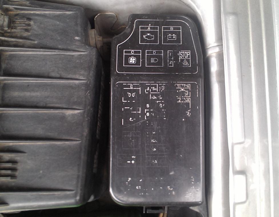 Fuse Box Mapping  Diagram Untuk Lancer Ck4