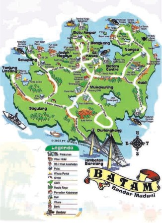 Peta Batam