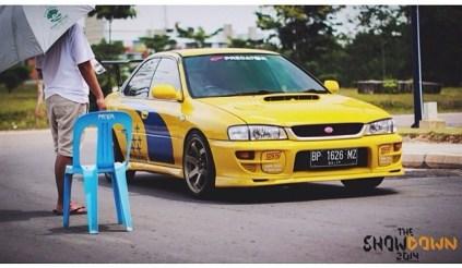 """""""Musuh"""" bebuyutan Mitsu --> Subaru"""