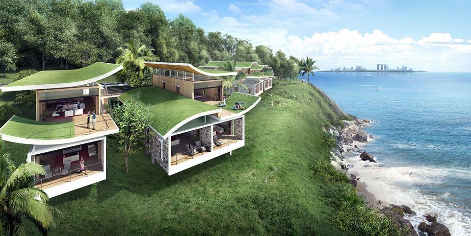 Desain Villa di Funtasy Island (Berbagai Sumber)