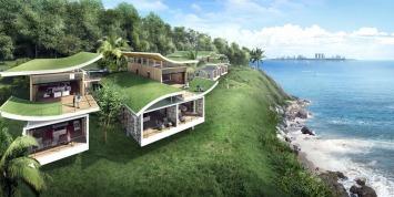 Desain Villa di Funtasy Island