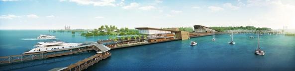 Rencana Pembangunan Ferry Terminal Funtasy Island