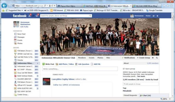 Group IDMOC di Facebook