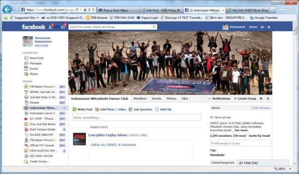 Group IDMOC di Facebook