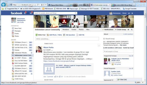 Group ILC di Facebook
