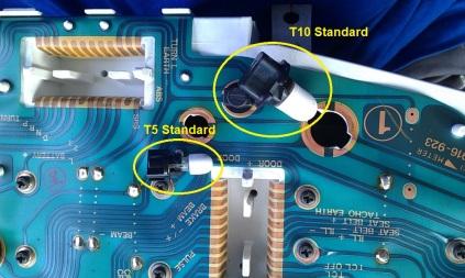 Lampu T5 & T10 Standard Lancer Evo 4