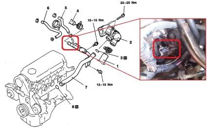 Radiator Pipe Lancer yang Bocor