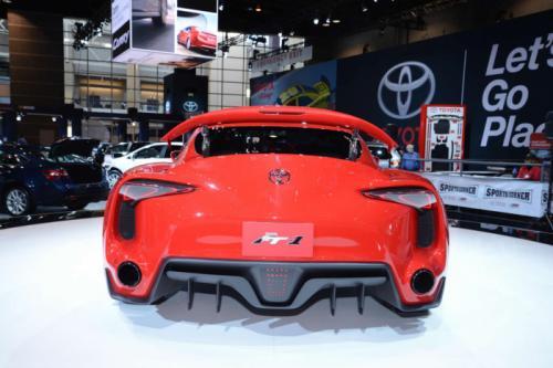 Toyota FT-1 Belakang