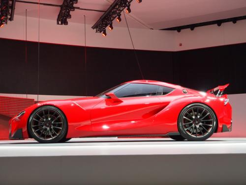 Toyota FT-1 Samping