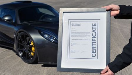 Venom GT World Record