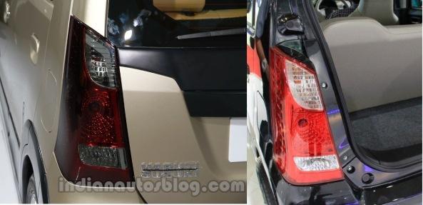 Wagon-R-Xrest vs Karimun Wagon R - TailLight