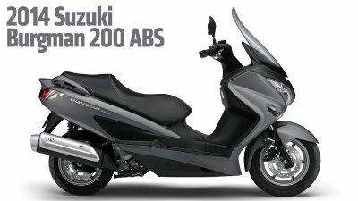 Suzuki Burgman 200 (2014)