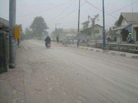 Jalanan di kota Jogja