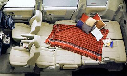 Delica Seating - bisa  buat tidur-tiduran :)