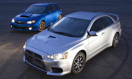 Evo X vs Subaru WRX