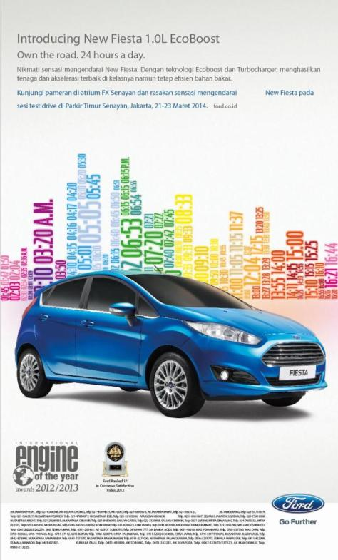 Launching Fiesta EcoBoost 1.0 L