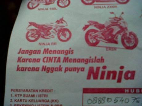 Iklan Ninja - Dari Mbah Bons