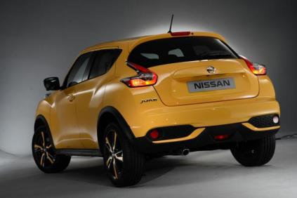Juke Facelift - Rear View