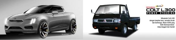 Kia Truckster  vs L300