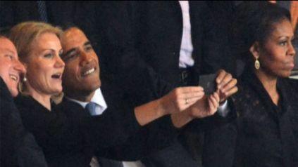"Selfie Obama & ""Friends"""