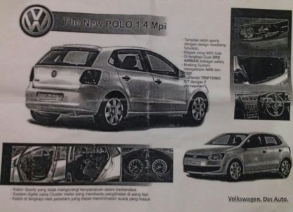 Brosur VW Polo 1.4 MPI