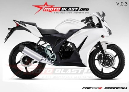 CBR150 versi Motoblast