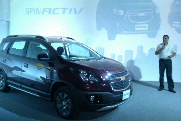 Peluncuran Chevrolet Spin Activ