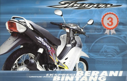 New Shogun 110