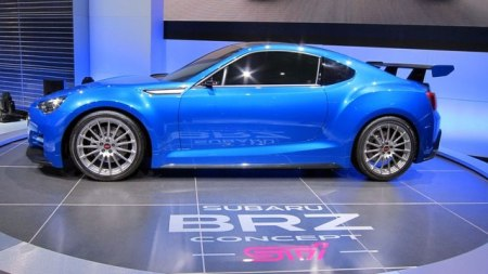 Subaru-BRZ STI Concept