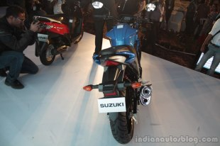 Suzuki Gixxer - rear