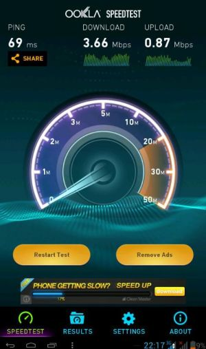 Speedtest Simpati