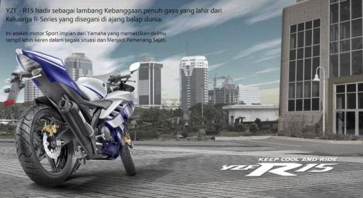 Yamaha R15 - Tambah Ganteng kata Yamaha