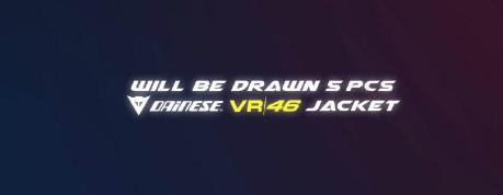 Hadiah Jaket Dainese VR46