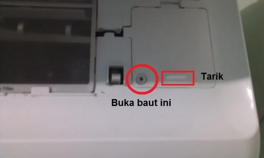 Baut untuk penutup controller