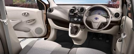 Interior Datsun Go+