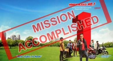 Mission Accomplished!