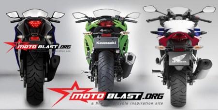 Ninja250FI vs CBR250R vs R25 (motoblast.org)