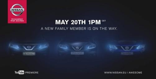 Teaser Nissan Pulsar 2014