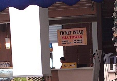 Biaya Naik ke Tower