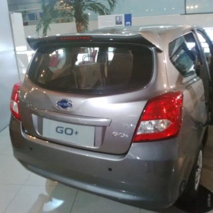 Datsun Go+ Panca - Tidak ada Wiper Belakang