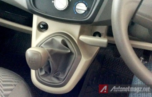 Datsun Go+ Panca - Tuas Perseneleng & Rem Tangan