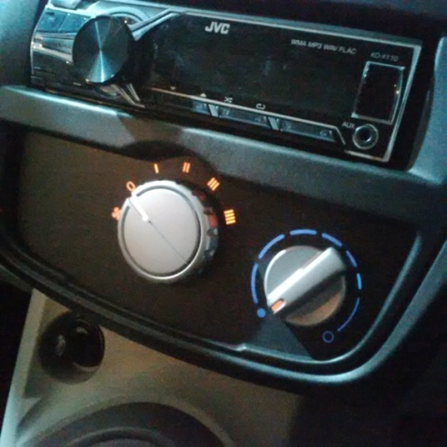 Datsun Go+ Panca - Audio & AC