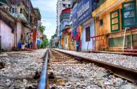Kereta di Hanoi 3