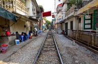 Kereta di Hanoi 4