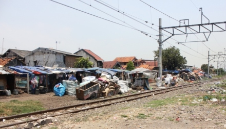 Jalur Kereta di Jakarta