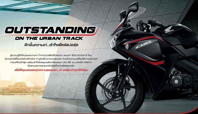 Warna Baru CBR150R di Thailand, Dijual Beserta Aksesoris ...