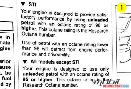 Manual Subaru WRX STi